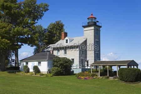 sodus point lighthouse maritime museum sodus