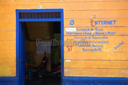 an internet cafe in nicaragua