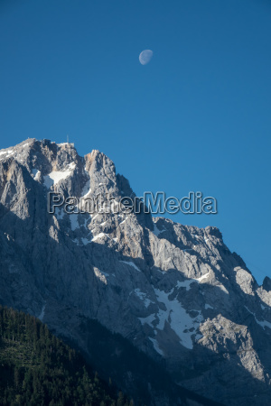 zugspitze in the morning light