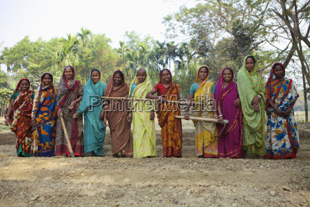 women from agricultural commune kishoreganj bangladesh