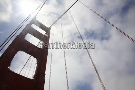 part of the golden gate bridge