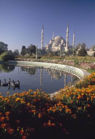 sultan ahmed mosque istanbul turkey headline