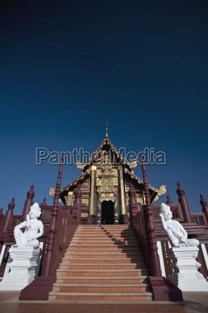 stairway to rajapreuk gardens chiang mai