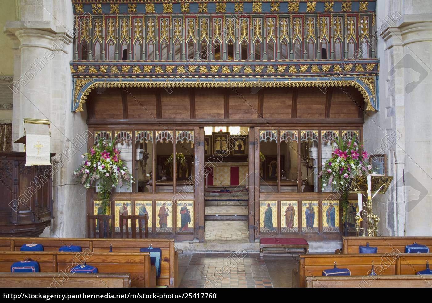 interior, of, st., james, church, , avebury, - 25417760