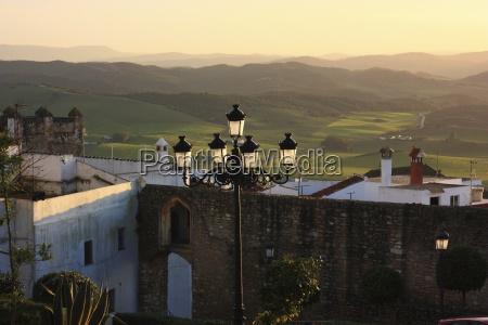 lamp post medina sidonia andalucia spain