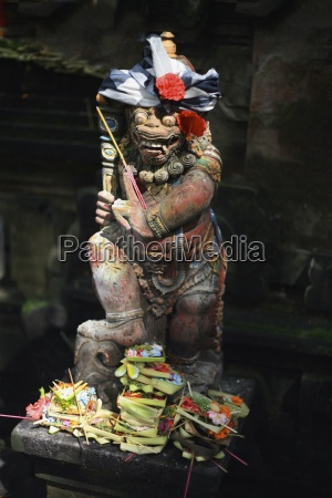 statue displaying crafts