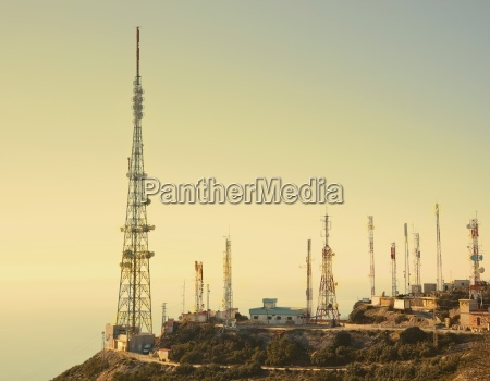 communication masts costa del sol mijas