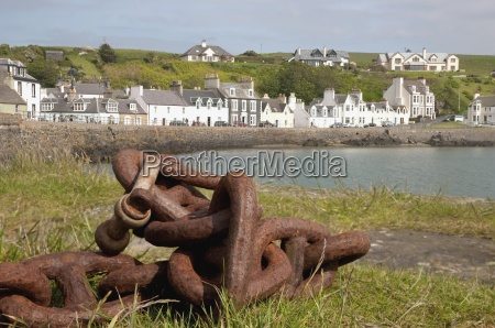 rusty nautical chain portpatrick dumfries i