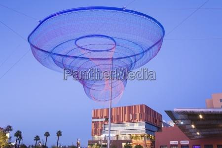 sculpture in civic space park phoenix