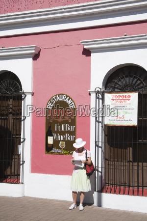 colonial architecture old town district mazatlan