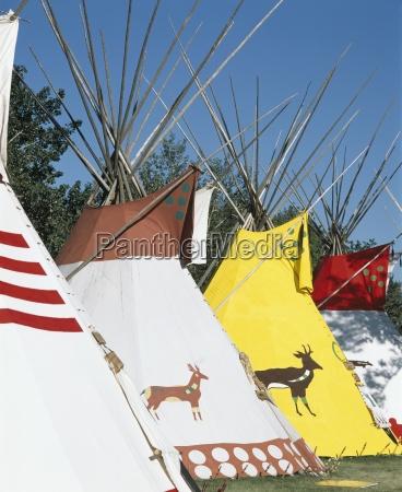 alberta native teepees calgary alberta canada