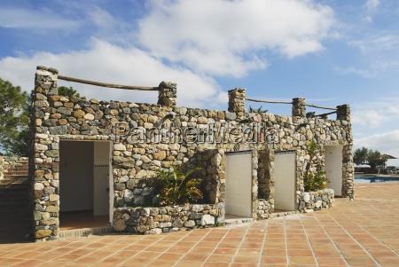 toilets next to swimming pool malaga