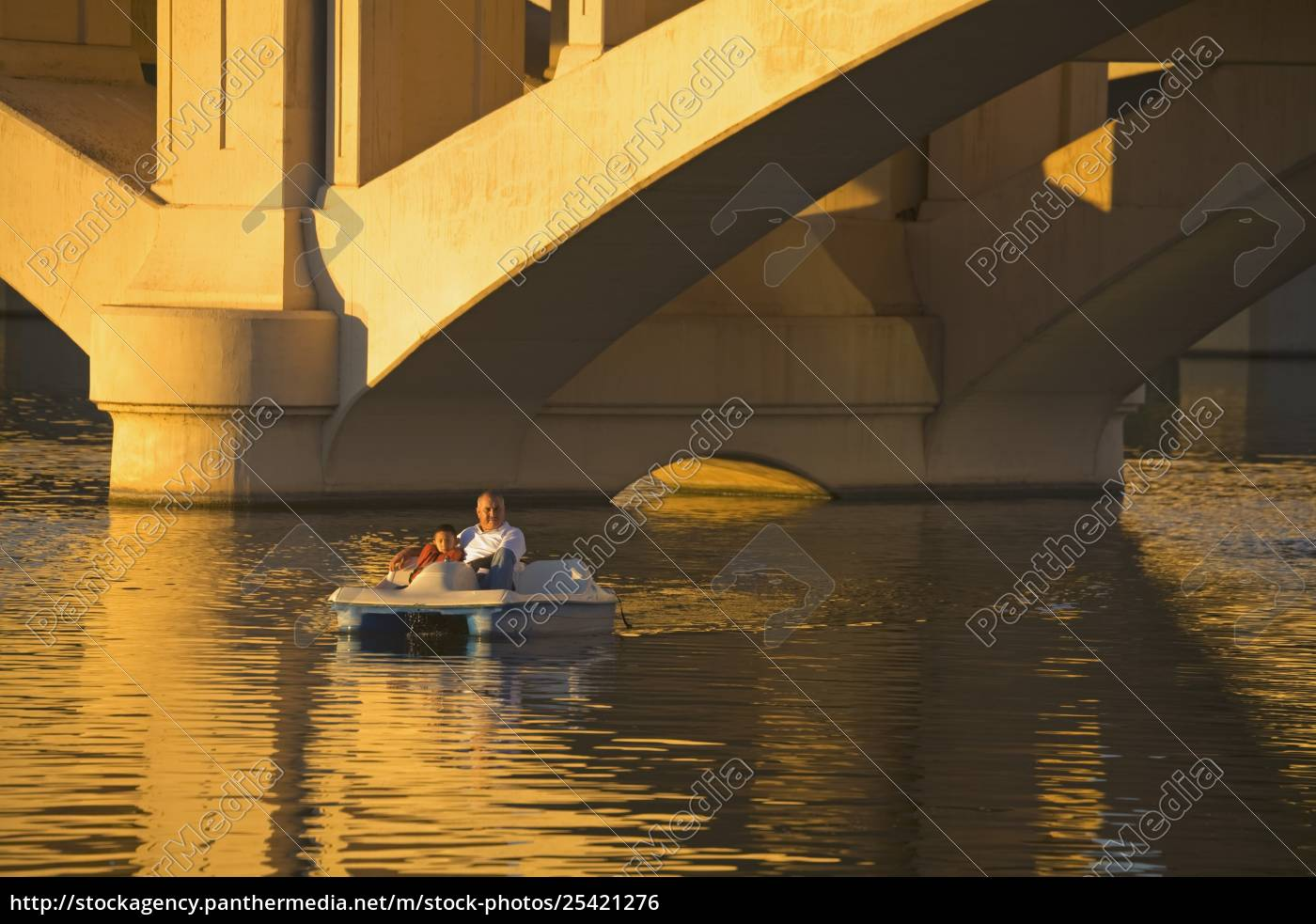 boating, on, tempe, town, lake, & - 25421276