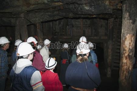 tour of bellevue mine crowsnest pass