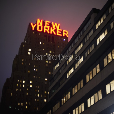 new yorker building manhattan new york