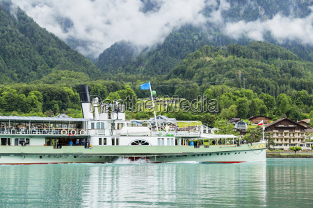 a tourist cruise boat brings visitors