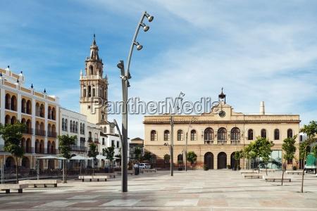 la plaza de espaa with the
