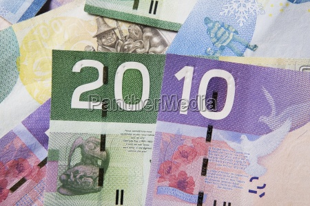 canadian ten and twenty dollar bills