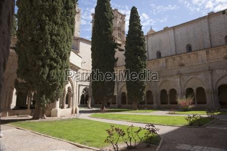 cloister of poblet monastery poblet spain