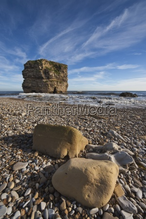 a large rock formation in the