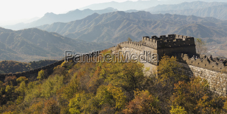 the mutianyu section of the great