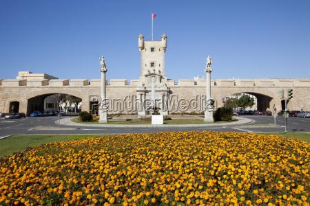plaza de la constitucion cadiz andalusia
