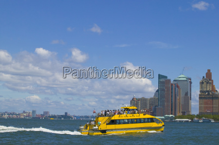 new york water taxi in the