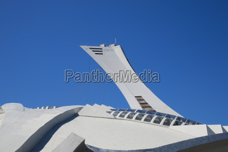 montreal olympic stadium and tower montreal