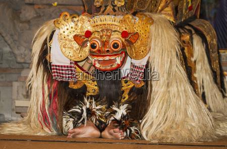 barong a mythical lion like creature