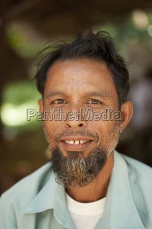portrait of a man noh poh
