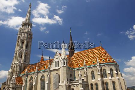 st matthias church in the castle