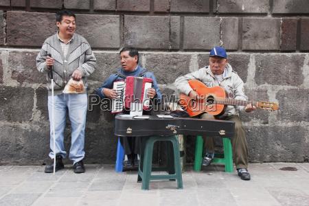 blind musicians quito pichincha ecuador