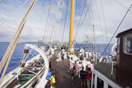 onboard the four mast barquentine chilean