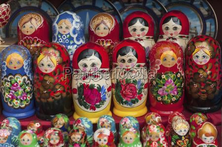 matryoshka dolls st petersburg russia