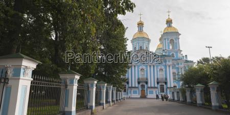 a path to a church building