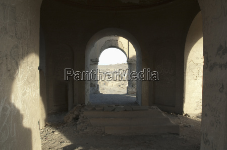 view of kabul from the tomb