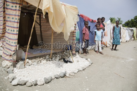 some displaced families take pride in