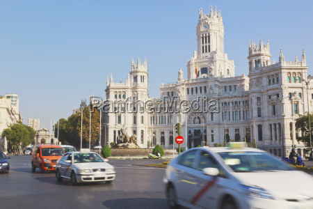 plaza de cibeles and the headquarters