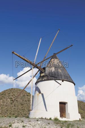 windmill just outside san jose in
