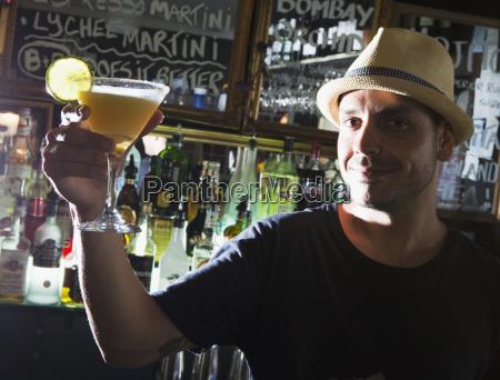 man in a bar gold coast