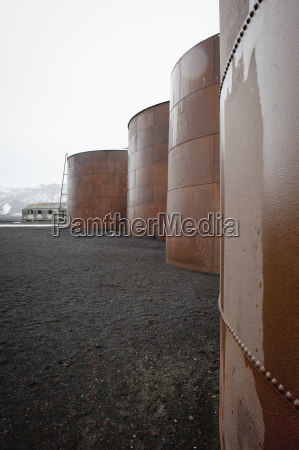 whale oil tanks whalers bay deception