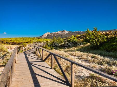 land scape near the beach of