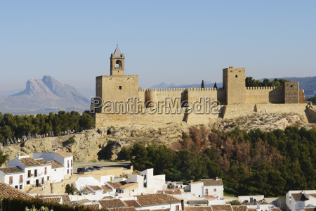 18th century alcazaba de antequera with
