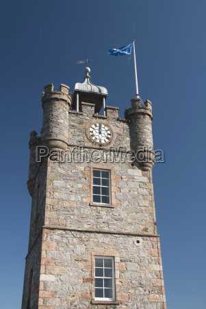 united kingdom scotland architectural detail of