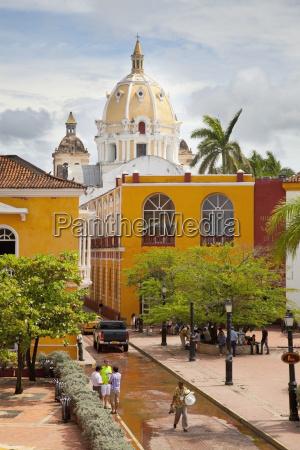 dome of iglesias de san pedro