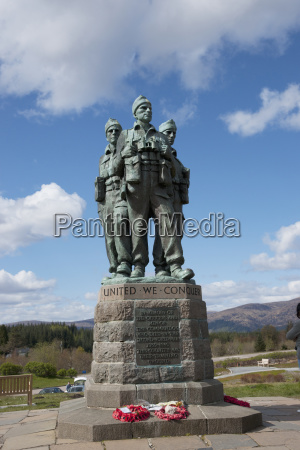 the commando memorial spean bridge village