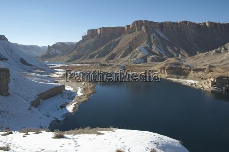 travertine walls of dam qadamjoy