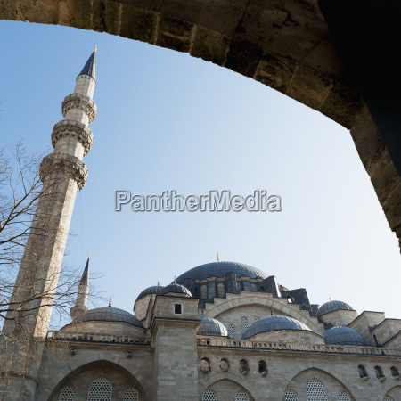 low angle view of the suleymaniye