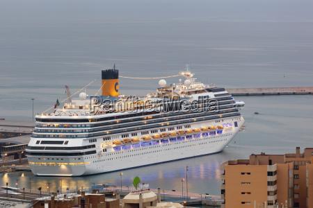 cruise ship costa serena in the