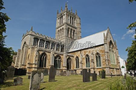 st marys church melton mowbray england
